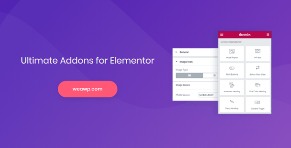 Ultimate Addons for Elementor 1.29.0 Nulled Image
